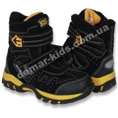 Детские термоботинки Super Gear B 209   B 210 (черно-желтые) 00ba0a1a233ef
